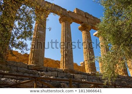 ancient greek column stock photo © kirill_m