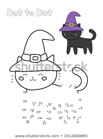 点在 猫 自然 猫 グラフィック ストックフォト © Soleil