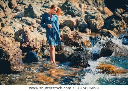 シャープ 海岸線 島 風景 海 夏 ストックフォト © smithore