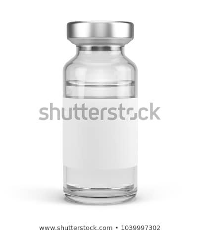 tıp · beyaz · tıbbi · enjeksiyon · bir - stok fotoğraf © bdspn