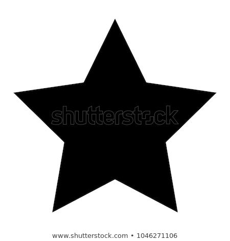 Estrellas insignia banner pueden propio Foto stock © oblachko