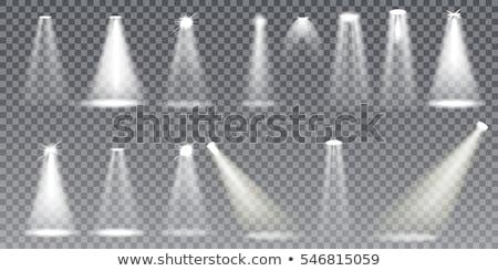 Etapie światła kilka fioletowy ciemne świetle Zdjęcia stock © unweit