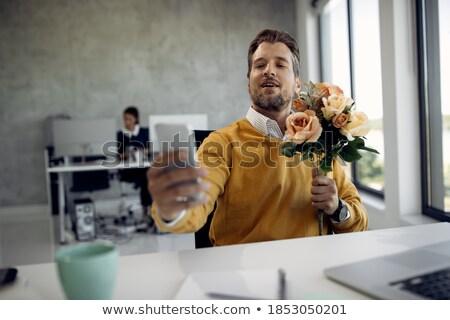 женщину · Сексуальные · домогательства · Boss · месте · служба - Сток-фото © andreypopov