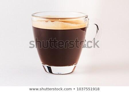 Кубок чашку кофе кофе молоко сердце Сток-фото © ElinaManninen