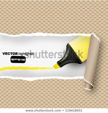 Open broke paper Stock photo © fuzzbones0