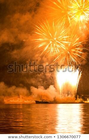 グレー · 空 · 海 · ボート · 船 · 軍事 - ストックフォト © vapi