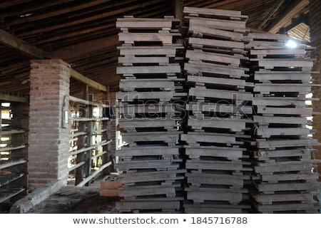 屋根 · タイル · テクスチャ · 古い · 教会 · 建築の - ストックフォト © bbbar