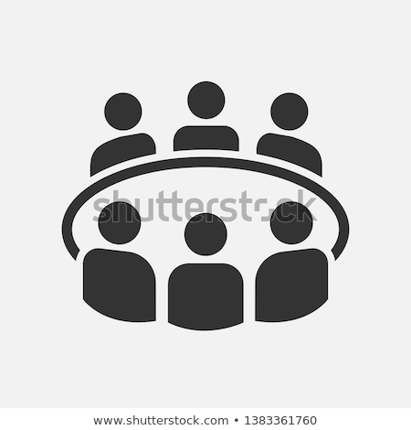 mobile discussion board icon business concept stock photo © wad