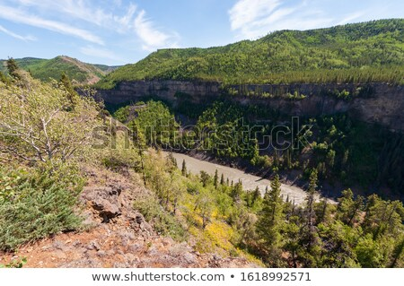 Grand Canyon of the Stikine River in British Columbia Stock photo © pictureguy