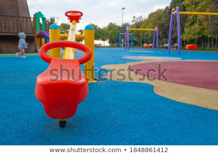 detail of seat from children swing Stock photo © jarin13