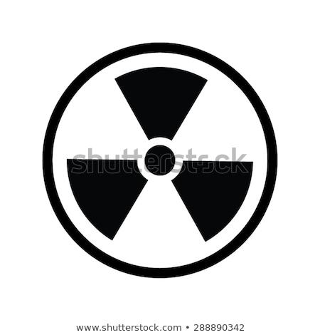 nukleáris · illusztráció · energia · rajz · vektor · kép - stock fotó © hermione