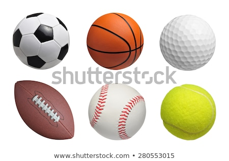 Сток-фото: бейсбольной · мяча · белый · дизайна · фон · спортивных