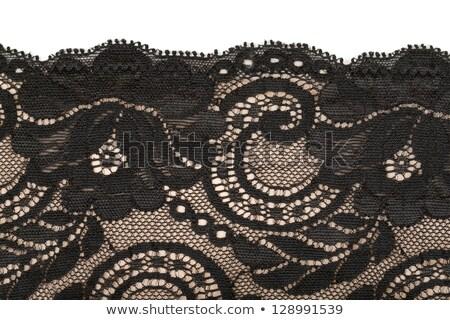 Beige fine lace Stock photo © gsermek
