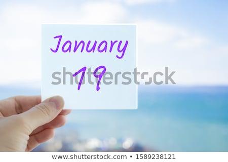 19th January Stock photo © Oakozhan