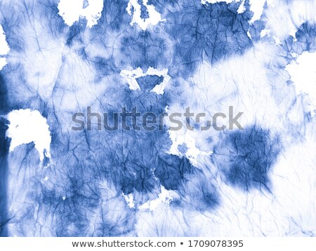 indigo blue brush stroke banner with copyspace Stock photo © SArts