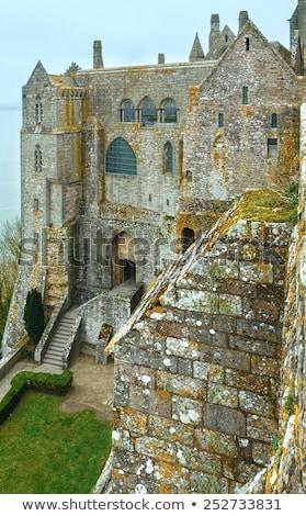 dentro · abadia · normandia · França · edifício - foto stock © doomko