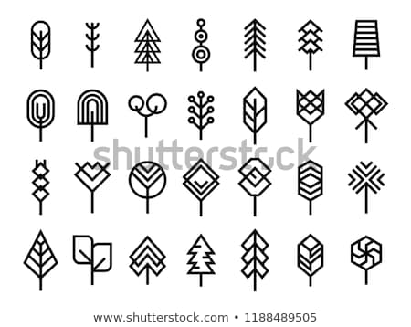 bio · logotipo · bebê · fruto · folhas · planta - foto stock © blaskorizov