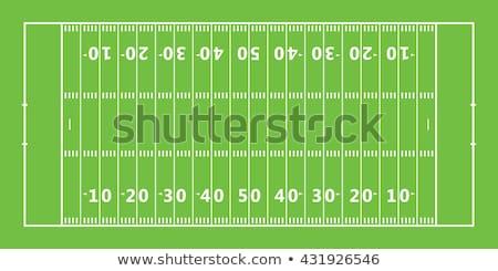 Ikon futballpálya vékony vonal terv futball Stock fotó © angelp