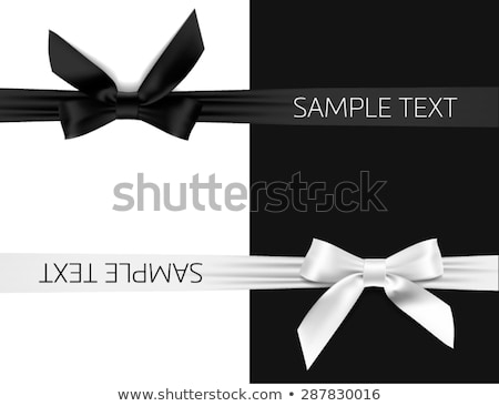 negro · raso · establecer · 3D · cromo · iconos - foto stock © butenkow