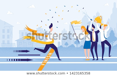 Finished businessman Stock photo © lichtmeister