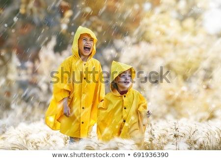 子供演奏 屋外 シャワー 2 女の子 演奏 ストックフォト © Anna_Om