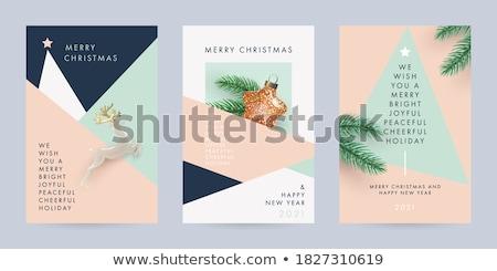 Christmas Card With Christmas Toys Stock photo © adamson