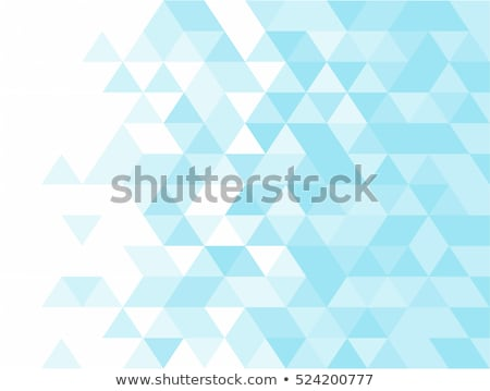 Abstract triangle pattern Stock photo © montego