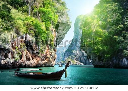 Playa krabi Tailandia vintage retro Foto stock © dmitry_rukhlenko