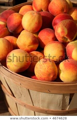 Luscious Peaches Stock photo © iodrakon