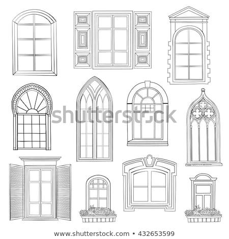 antic arabic window Stock photo © smithore