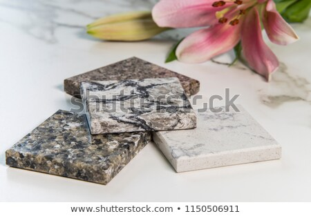 Countertop samples over white Stock photo © ivelin