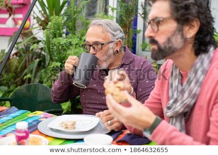 seniors outdoors Stock photo © photography33