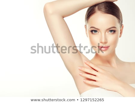 девушки · подмышка · портрет · довольно · женщину - Сток-фото © olira