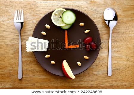 時間 · ダイエット · クロック · 赤 · 黒 · 単語 - ストックフォト © ruigsantos