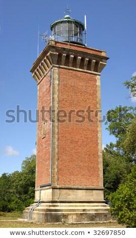 hourtin brick lighhouse Stock photo © smithore