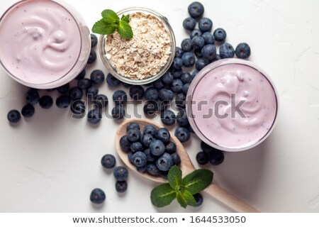 Simply blueberries Stock photo © danielgilbey