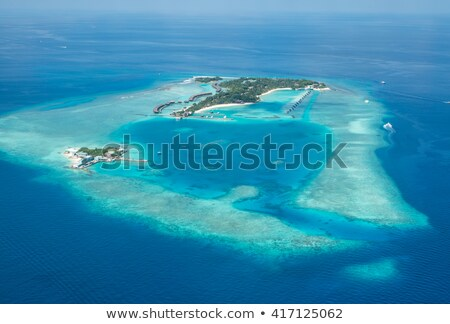 Atoll in the ocean Stock photo © ajlber