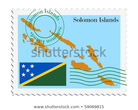 mail to-from Solomon Islands Stock photo © perysty