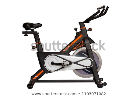 exercise bike, isolated on a white background Stock photo © shutswis