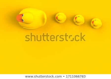 Close-up of a baby in the bath playing with a plastic duck  Stock photo © wavebreak_media