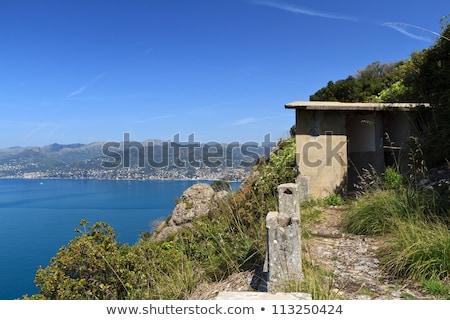 ww2 ruins over Mediterranean sea Stock photo © Antonio-S
