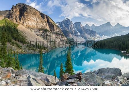 Rocky Mountains Lake Stock photo © THP