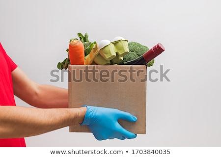 empregado · fora · ordem · isolado · branco · negócio - foto stock © dacasdo