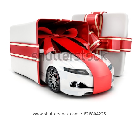 present boxes in a car Stock photo © ssuaphoto