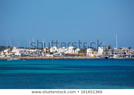 La dorp jachthaven strand water zee Stockfoto © lunamarina