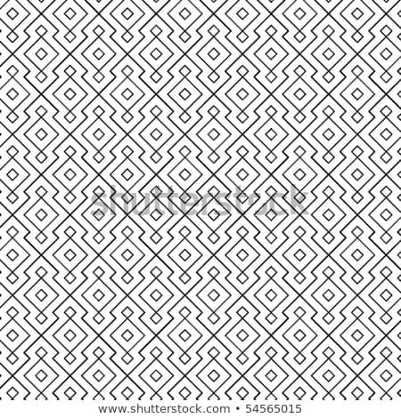 Senza soluzione di continuità disegno geometrico abstract sfondo catena Foto d'archivio © creative_stock