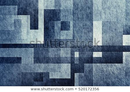 シームレス 抽象的な 幾何学的な 紙 デザイン 芸術 ストックフォト © elenapro