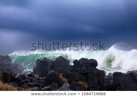 Rugged Rocky Beach Stock photo © Frankljr