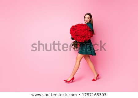 Bunches of colorful roses Stock photo © juniart