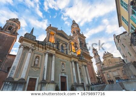 saint · basilique · mer · église · Skyline · architecture - photo stock © rglinsky77